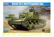 САУ Soviet AT-1 Self-Propelled Gun