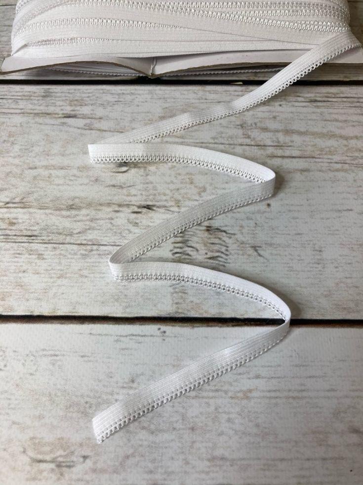 резинка ажурная 12мм белая