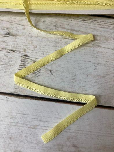 резинка ажурная 12мм нежно-желтая