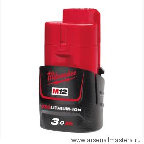 Аккумулятор M12 B3 3 Ач MILWAUKEE 4932451388