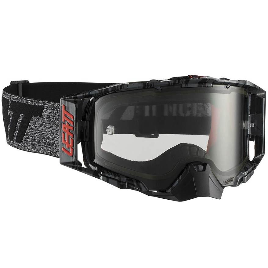 Leatt Velocity 6.5 Brushed/Grey Light Grey 58%, очки для мотокросса и эндуро