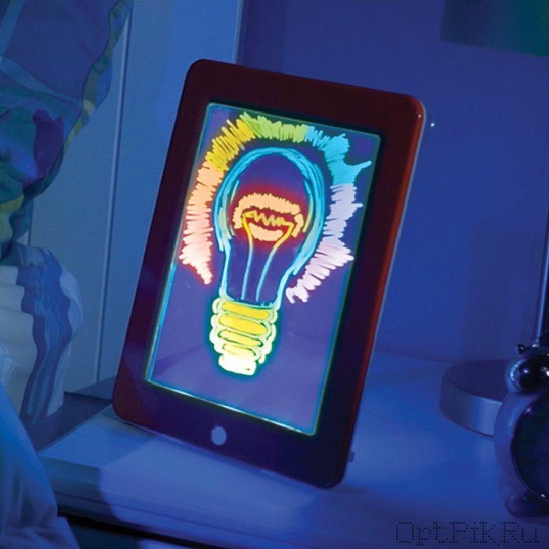 Световой планшет для рисования Magic pad (дефект упаковки)