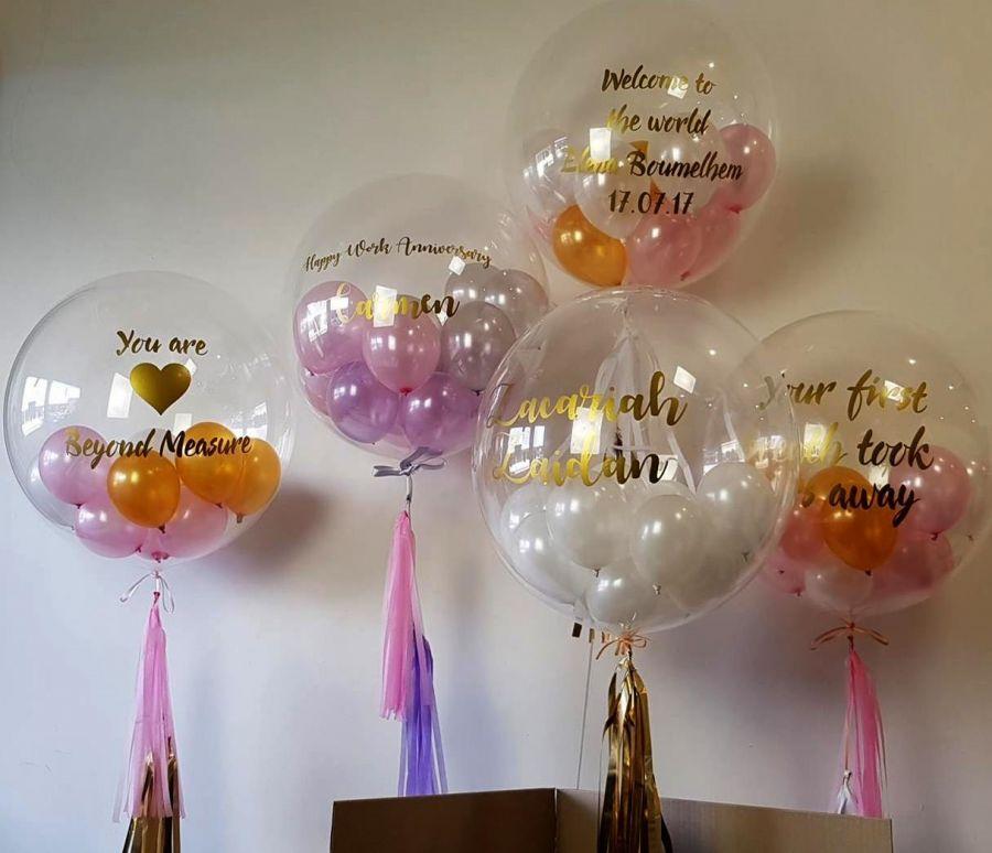 Гелиевые шары С шариками внутри