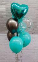 Гелиевые шары цвет мятный