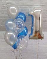 Гелиевые шары набор на годик