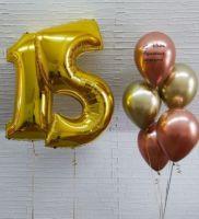 Гелиевые шары набор 15