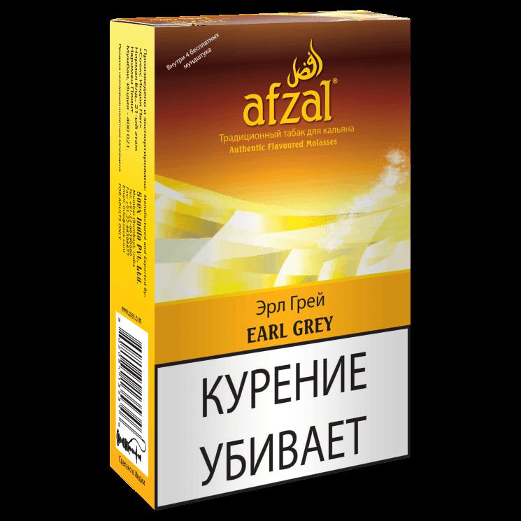 Табак Afzal - Earl Grey (Чай Эрл Грей, 40 грамм АКЦИЗ)