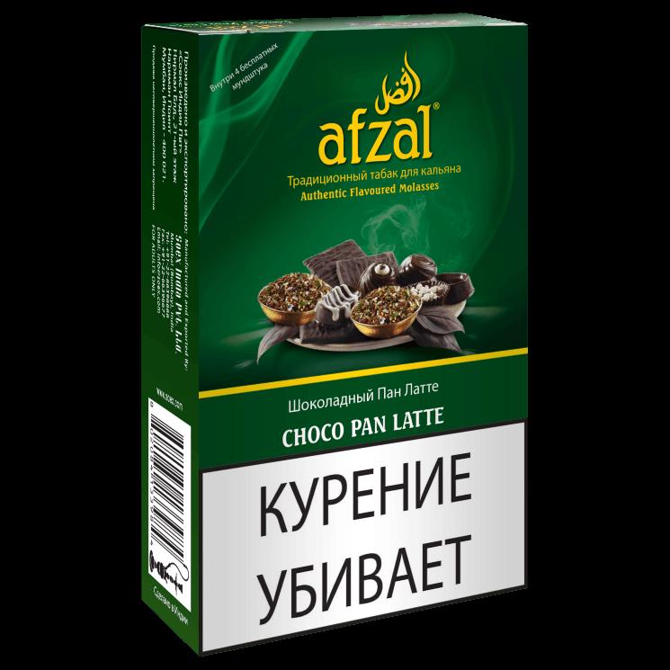 Табак Afzal - Choco Pan Latte (Шоколадный Пан Латте, 40 грамм АКЦИЗ)