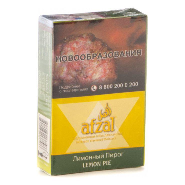 Табак Afzal - Lemon Pie (Лимонный Пирог, 40 грамм АКЦИЗ)