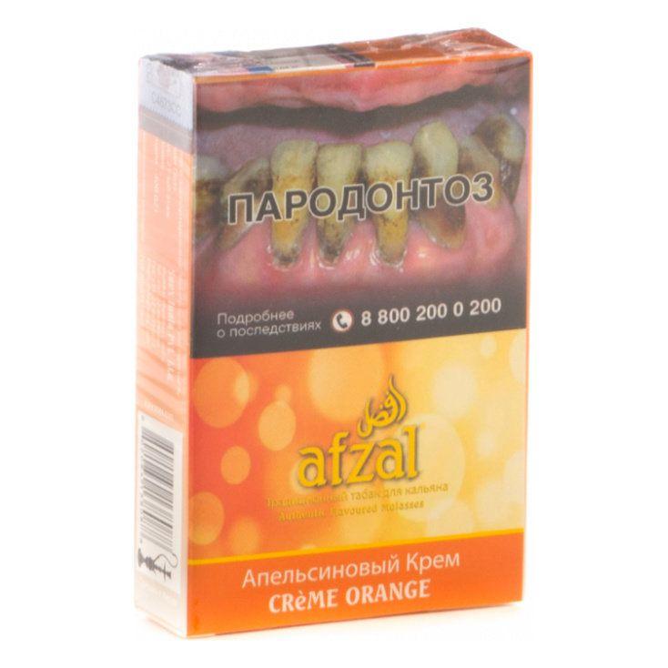 Табак Afzal - Creme Orange (Апельсиновый Крем, 40 грамм АКЦИЗ)