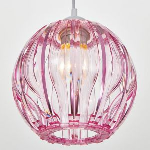 Светильник 8330/1, 1хЕ27 15Вт, розовый 23х21+60 см 5126763