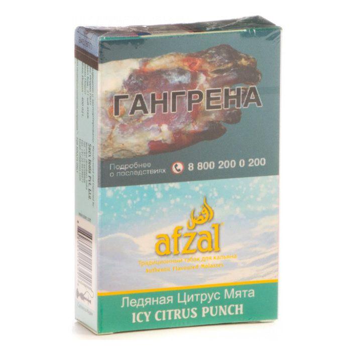 Табак Afzal - Icy Citrus Punch (Ледяная Цитрус Мята, 40 грамм АКЦИЗ)