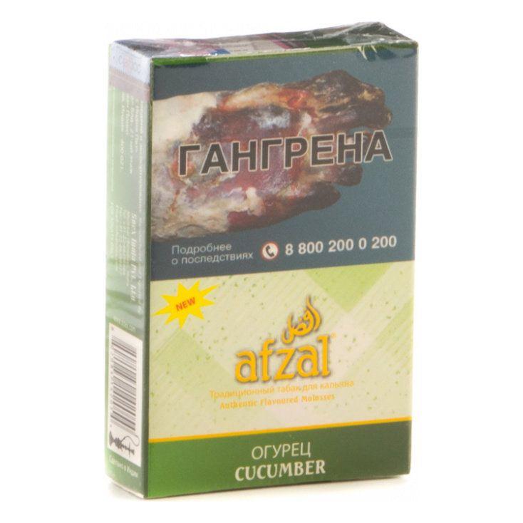Табак Afzal - Cucumber (Огурец, 40 грамм АКЦИЗ)