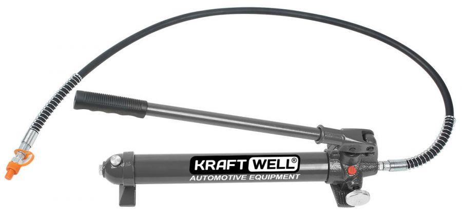 KraftWell KRWHP10 Насос гидравлический ручной 10 т