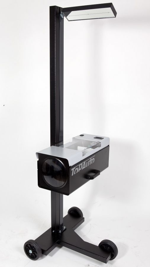 TopAuto HBA26DZ_grey Прибор контроля и регулировки света фар усиленный, с наводчиком
