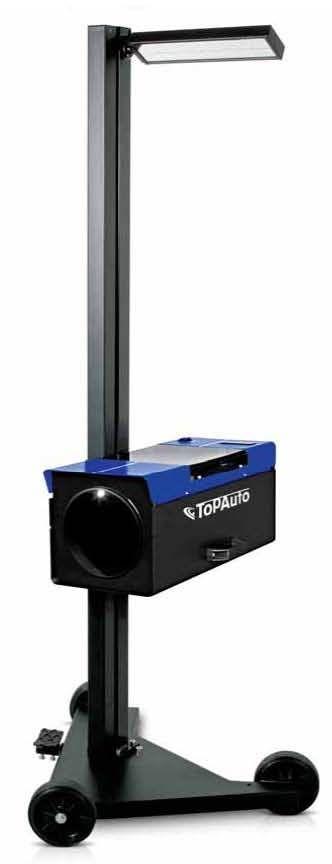TopAuto HBA24D Прибор контроля и регулировки света фар усиленный, с вращающейся стойкой