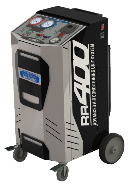 TopAuto RR400 Станция автоматическая для заправки автомобильных кондиционеров