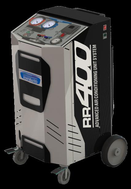 TopAuto RR400_demo Станция автоматическая для заправки автомобильных кондиционеров