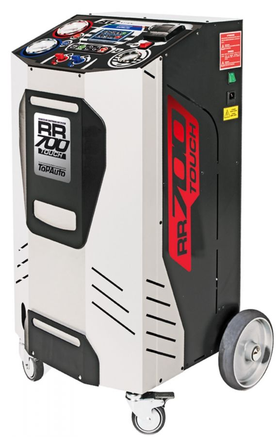 TopAuto RR700Touch_demo Станция автоматическая для заправки автомобильных кондиционеров