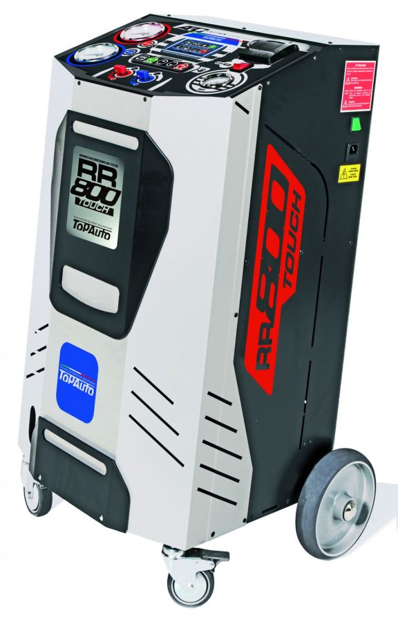TopAuto RR800Touch_demo Станция автоматическая для заправки автомобильных кондиционеров