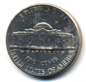 США 5 центов 1999 P