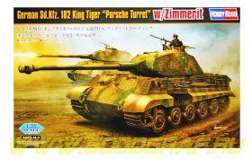 King Tiger Porsche w/zimmerit