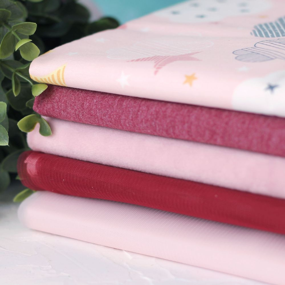 Набор тканей для пошива Марсала