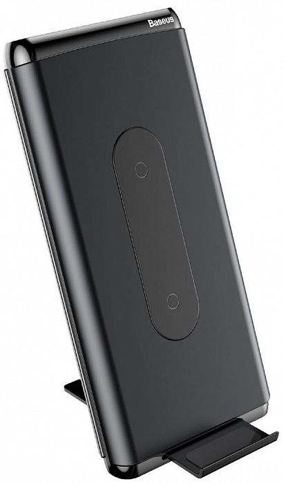 Беспроводная зарядка аккумулятор Baseus Wireless charger power bank 8000mAh Черный