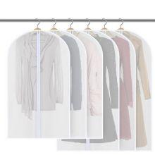 Полиэтиленовый чехол для одежды на молнии, 60Х137 см