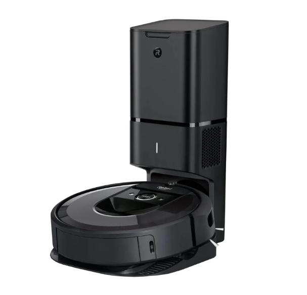 Робот-пылесос iRobot Roomba i7+, черный