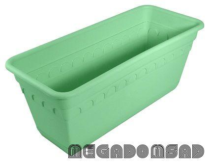 Ящик для растений Колывань 40см с поддоном С183К