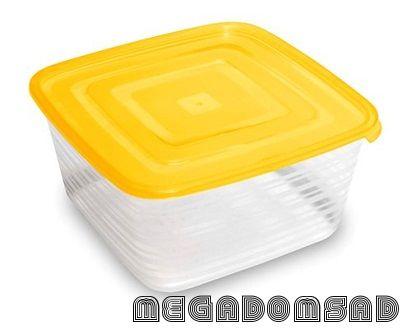 Контейнер для продуктов (СВЧ) «Унико» квадратный 2,1л С211
