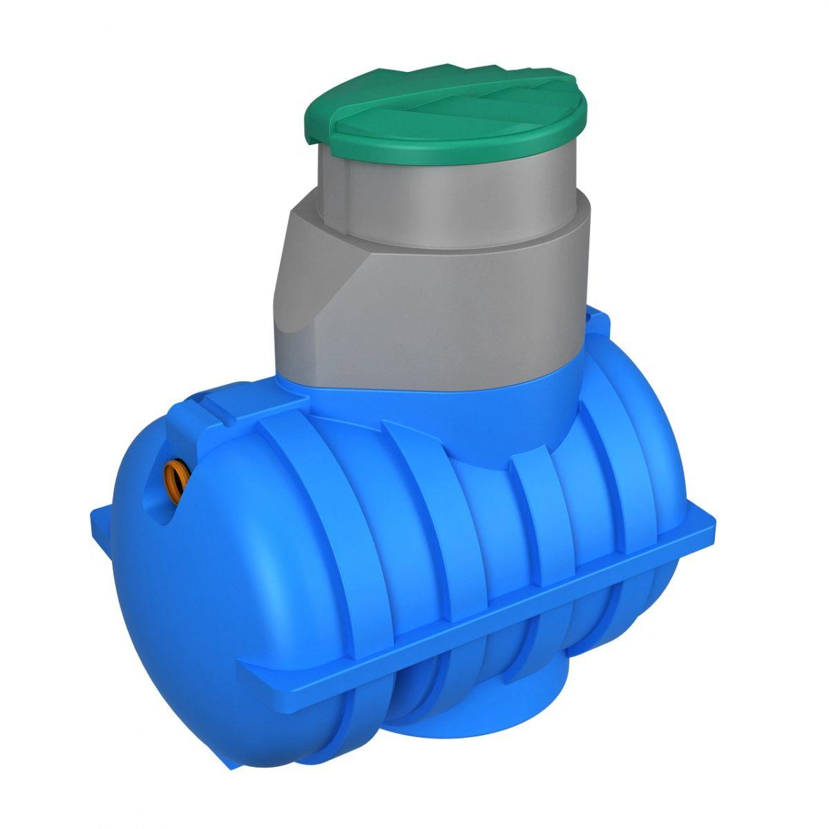 Подземная емкость U 1250 литров синий