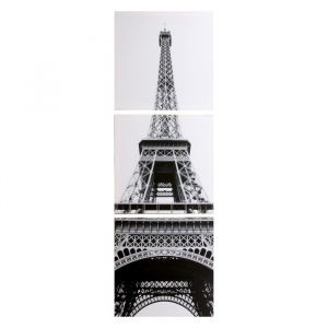 "Модульная картина ""Эйфелева башня"" (3-35х35) 35х105 см 4983643"