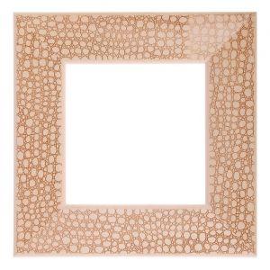 Рама для зеркал и картин, дерево, 15 х 15 х 5.0 см, липа, «Питон», горячее тиснение