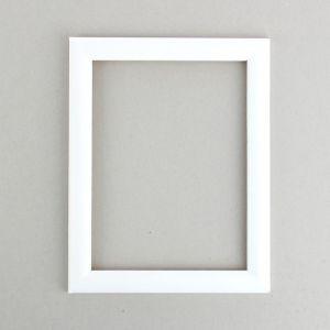 Рама для зеркал и картин, дерево, 18 х 24 х 2.6 см, Berta белая