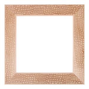Рама для зеркал и картин, дерево, 25 х 25 х 5.0 см, липа, «Питон», горячее тиснение