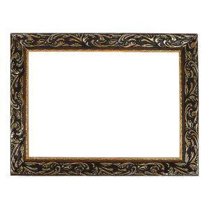 """Рама для зеркал и картин, дерево, 25 х 35 х 4.0 см, """"Версаль"""" цвет золотой"""