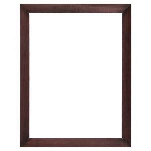 Рама для зеркал и картин, дерево, 30 х 40 х 3.0 см, липа, венге