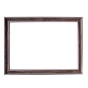 Рама для зеркал и картин, пластик, 21 х 30 х 2.4 см, Calligrata 642468, белая
