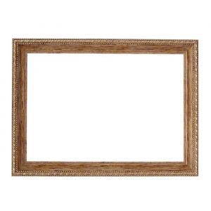 Рама для зеркал и картин, пластик, 21 х 30 х 2.6 см, Calligrata 642948, дерево с золотом