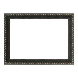 Рама для зеркал и картин, пластик, 21 х 30 х 2.6 см, Calligrata 642998, тёмно-коричневая с золотом