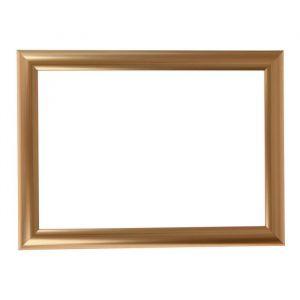Рама для зеркал и картин, пластик, 21 х 30 х 2.7 см, Calligrata 647211, золото