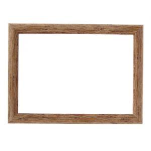 Рама для зеркал и картин, пластик, 21 х 30 х 2.7 см, Calligrata 647244, натуральное дерево