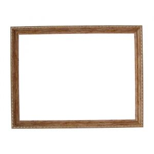 Рама для зеркал и картин, пластик, 30 х 40 х 2.6 см, Calligrata 642948, дерево с золотом
