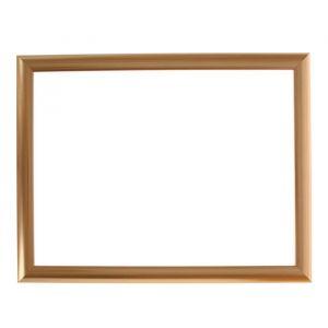 Рама для зеркал и картин, пластик, 30 х 40 х 2.7 см, Calligrata 647211, золото
