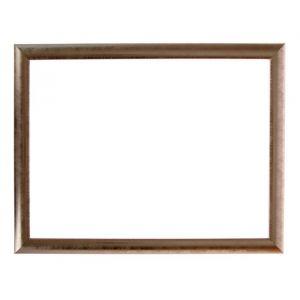 Рама для зеркал и картин, пластик, 30 х 40 х 2.7 см, Calligrata 647221, серебро