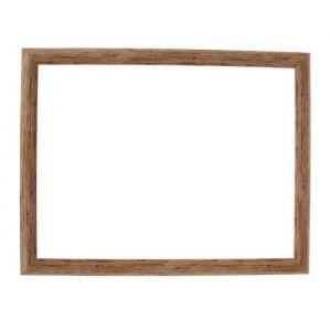 Рама для зеркал и картин, пластик, 30 х 40 х 2.7 см, Calligrata 647244, натуральное дерево