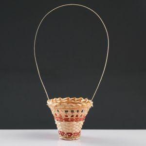 Корзина «Стакан», 12?14 см, бамбук 4501532