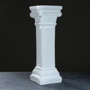 """Колонна """"Античная малая"""" 18х18х56см белая  3866600"""